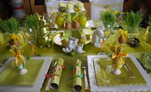 Velykų stalo dekoravimo idėjos