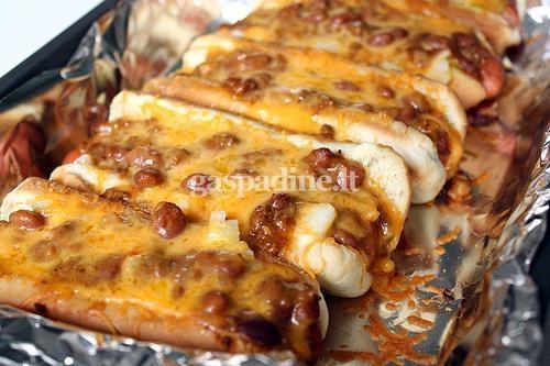 Cornbread Chili Hot Dogs