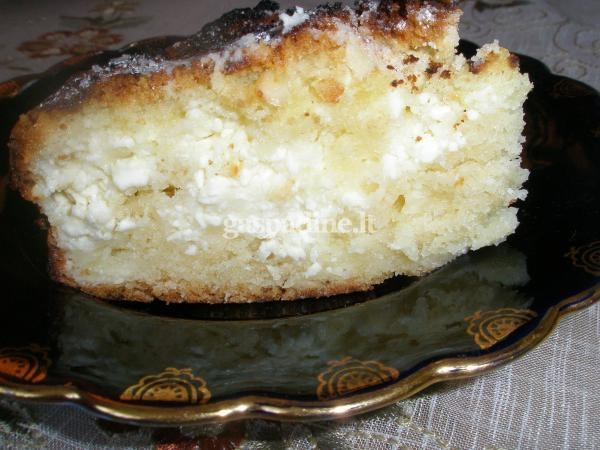 Paprastas pyragas be nieko