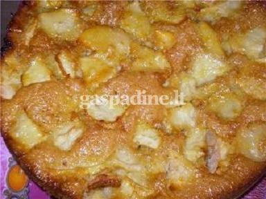 Greitas obuoliu pyragas