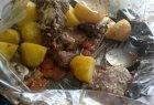 Kiaulienos kepsniai su bulvėmis