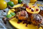 Vištienos blauzdelės citrinų marinate