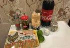"Vištų sparneliai su ""Coca-colos"" glaistu"