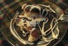Bulviniai vėdarai su grietine
