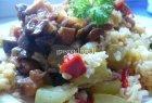 Daržovių troškinys su ryžiais