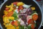 Argentinietiškas jautienos ir daržovių troškinys