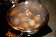 Dešros ir kiaušinių mišrainė