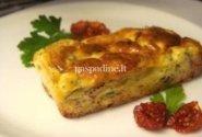 Grietinėlės sūrio, avokado ir džiovintų pomidorų apkepas