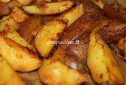 Aštrios auksinės bulvytės