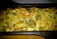 Bulvių bei dešrelių apkepas