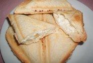 Karšti sumuštiniai su bananine varškyte