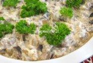 Baklažanai su grybais