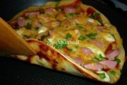 Greitai paruošiama pica keptuvėjė