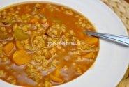 Konservuota agurkinė sriuba