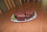Šokoladinis burokėlių pyragas