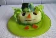 Mėsos - daržovių troškiniu įdarytos bulvės
