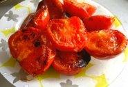 Grilyje kepti pomidorai