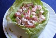 Vasariškos vištienos salotos