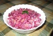 Burokėlių ir pupelių salotos