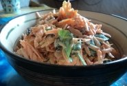 Morkų salotos su rūgštynėmis