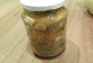 Grybų sriuba su pomidorais