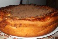 Pyragas su varškės spanguolių riešutų įdaru