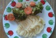 Bulvių košė su daržovėmis