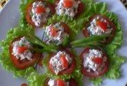 Sumuštiniai su vištiena ir pomidoru