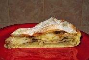 Traškus obuolių pyragas