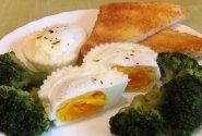 Garuose virti kiaušiniai