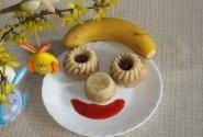 Bananų pyragas (paruoštas garuose)