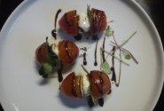 Mozzarella su pomidoriukais