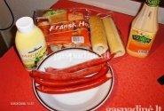 """Prancūziškas dešrainis """"Fransk Hotdog"""""""