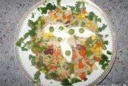 Šaldytų daržovių mišrainė