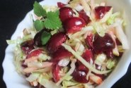 Trešnės su kopūstais ir obuoliais