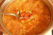 Voveraičių sriuba su grietinėle
