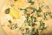 Vištienos ir lapkočių sriuba