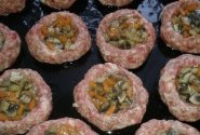 Maltos mėsos kepsneliai su grybais