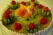Kalėdinis tortas ,,Gulbė princesė''