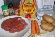 Vermišelių sriuba su jautienos juostelėmis