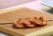 Grilyje keptos krevetės