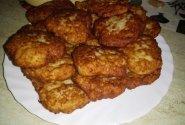 Bulvių, cukinijų ir faršo kotletai