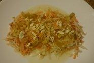 Moliūgo ir gelteklės salotos