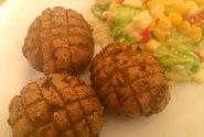 Česnakinės bulvės orkaitėje
