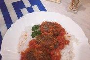 Maltos mėsos kotletai su kuminais ir raudonuoju padažu (Σουτζουκάκια)
