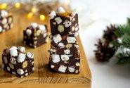 Šokoladinis skanėstas su zefyrais