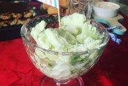 Ledai su žaliąja arbata