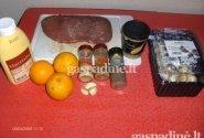 Apelsininiai kepsniai