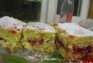 Paprastas biskvitinis pyragas