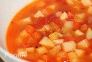 Lengva daržovių sriuba